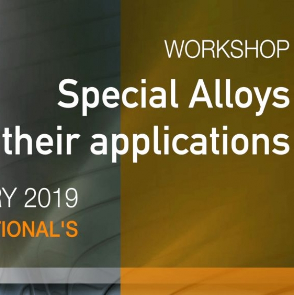 Workshop Special Alloys and their applications - RS Alloys